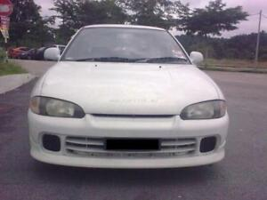for JDm Mitsubishi Lancer mirage asti CA1A bumper lip mivec PU