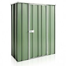 YardSaver F42 1.4m x 0.7m Flat Roof Colour Garden Shed