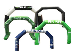 Inflatable Race Arch Gantry Start Arch Fast Turnaround Any Colour Any Print