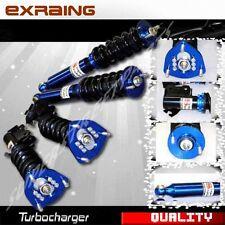 For 89-94 nissan 240sx s13 full coilover NON Adjustable suspension Damper BLUE