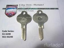 Key Blank for Vintage Volkswagen Beetle 1952 - 59 Karmann Ghia 1956 - 67  (62VW)