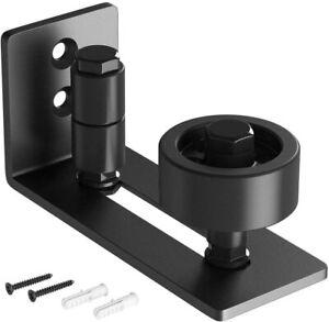 8 in 1 Floor Guide for Sliding Barn Door Hardware Kit Wall-mounted Adjustable