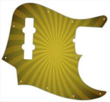 J Bass Pickguard Custom Fender Graphic Graphical Guitar Pick Guard Big Top YL