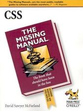 CSS: The Missing Manual by McFarland, David Sawyer, Good Book
