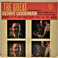 THE GREAT BENNY GOODMAN  45 RPM Extra Play  Columbia B-8204