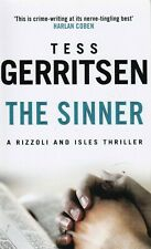 THE SINNER BY TESS GERRITSEN PAPERBACK BOOK