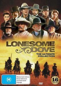LONESOME DOVE Ultimate Collection (Region 4) DVD Laredo Comanche Complete Series