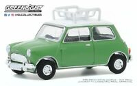 A.S.S NEU GreenLight 1/64 Austin Mini Cooper S 1965 with Roof Rack Hot Hatches
