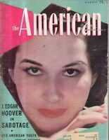 1940 American August - J Edgar Hoover; Cleveland Playhouse; Sleep Talking;Alaska