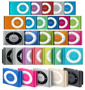 Apple iPod Shuffle 2nd 4th 5th 6th Generation 1GB 2GB - Silver Black Blue Purple