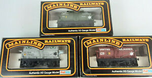 MAINLINE PRIVATE OWNER TANK WAGONS X 3(LOT 11) VERY GOOD COND BOXED OO(UQ)