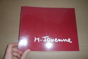 MICHEL JOUENNE peintre dedicace sur catalogue envoi