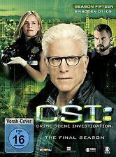 CSI: LAS VEGAS-SEASON 15.1 3 DVD NEU