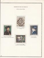 france stamps page ref 17056