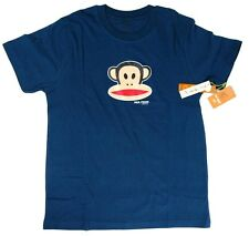 NEW NWT PAUL FRANK MEN'S ATHLETIC CLASSIC COTTON SHIRT T-SHIRT NAVY SIZE XS