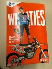 100% AUTHENTIC RYAN DUNGEY FOX KTM REDBULL WHEATIES BOX UNOPENED NEW