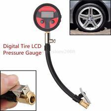 0-200PSI Metal Digital Tire LCD Manometer Air Pressure Gauge PSI KPA KGF/cm² New