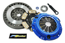 FX STAGE 3 CLUTCH KIT+RACING FLYWHEEL 1985-87 TOYOTA COROLLA GTS AE86 1.6L 4AGE