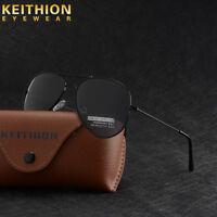 Unisex Womens Men Fashion Polarized Mirror Lens Sunglasses Vintage Retro Glasses