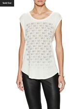 $165 NWT HAUTE HIPPIE I Want It Tee Top YOOX For A Girl Who Has Everything! XS S