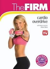 THE FIRM TRANSFIRMATION DVD CARDIO OVERDRIVE DVD NEW ALISON DAVIS WORKOUT SEALED