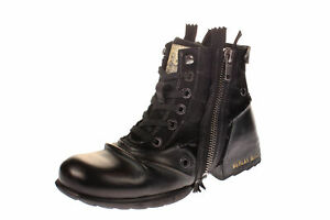 Replay RU01-0003L CLUTCH - Herren Schuhe Boots / Stiefel - 003-black