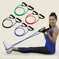 Resistance Band Yoga Pilates Abs Exercise Stretch Fitness Tube Workout Band