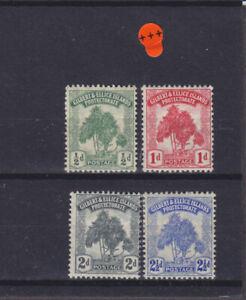 Gilbert & Ellice Islands KGV SG 8/11 Cat £20.25 Mounted Mint
