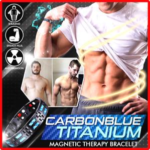 CarbonBlue Titanium Magnetic Therapy Bracelet ORIGINAL QUALITY