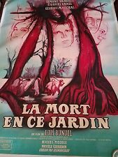 DEATH IN THE GARDEN La MORT EN CE JARDIN  1956 Movie Poster
