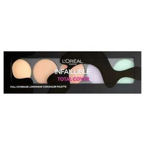 L'Oreal Infallible Total Cover Full Coverage Concealer Palette