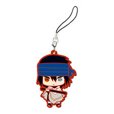 Naruto Shippuuden The Last Sasuke Rubber Phone Strap NEW