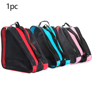 Roller Skate Bag Triangle Gift Ski Backpack Carry Portable Oxford Cloth Sports