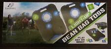 EastPoint Sports LightUp 8 Bean Bag Toss Set 23.5x18 Corn Hole Game Self Storage