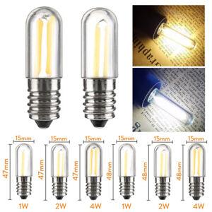 LED COB Filament Light Bulbs Mini E12 E14 Lamps for Refrigerator Fridge Freezer