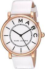 Marc Jacobs Women's MJ1561 'Roxy' White Leather Watch