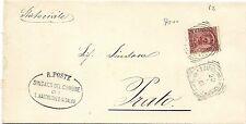 P6869   Benevento, S.Bartolomeo in Galdo, ann. tondo riquadrato 1901