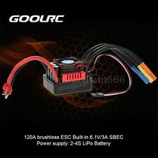 GoolRC S-120A Brushless ESC Speed Controller w/ 6.1V/3A SBEC for 1/8 RC Car T4D7