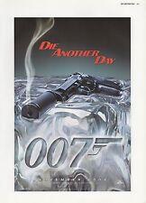 "2003 Vintage JAMES BOND ""007 Die Another Day"" Smoking Gun MINI POSTER Lithograph"