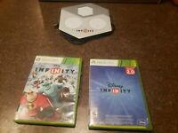 Lot of Disney Infinity 1.0 2.0 Xbox 360 Complete with Game Pad Tested & Working