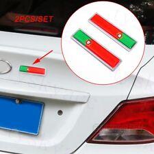 Portugal Country Flag Badge Emblem Decal Sticker Universal Car Accessories Trim
