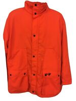 Winchester Conceal Neon Blaze Orange Hunting Coat Size Mens XL.