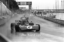 Francois Cevert Elf Tyrell 002 Monaco Grand Prix 1972 Photograph 6
