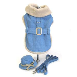 Denim Coat w/ Hat & Leash