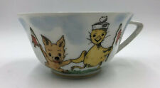 Limoges France Cup With Duckling And Puppy Charachters