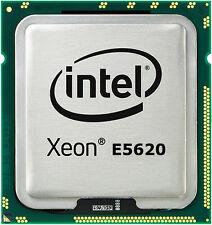 INTEL XEON QUAD CORE PROCESSOR E5620 2.40GHZ 12MB SMART CACHE 5.86GT/S SLBV4 CPU