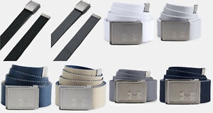 Under Armour UA Webbing 2.0 Reversible Belt Men's Webbed Golf Adjustable OSFA