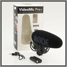 Rode VideoMic Pro Plus On-Camera Shotgun Microphone, New in Retail Box !!!