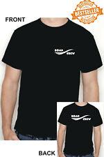 Road Crew T-Shirt/Front + Back Print/Roadie/Band/GIG/Musik/alle Größen