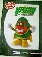 Vision  Marvel Poptaters Collectors Edition Mr Potato Head Superhero